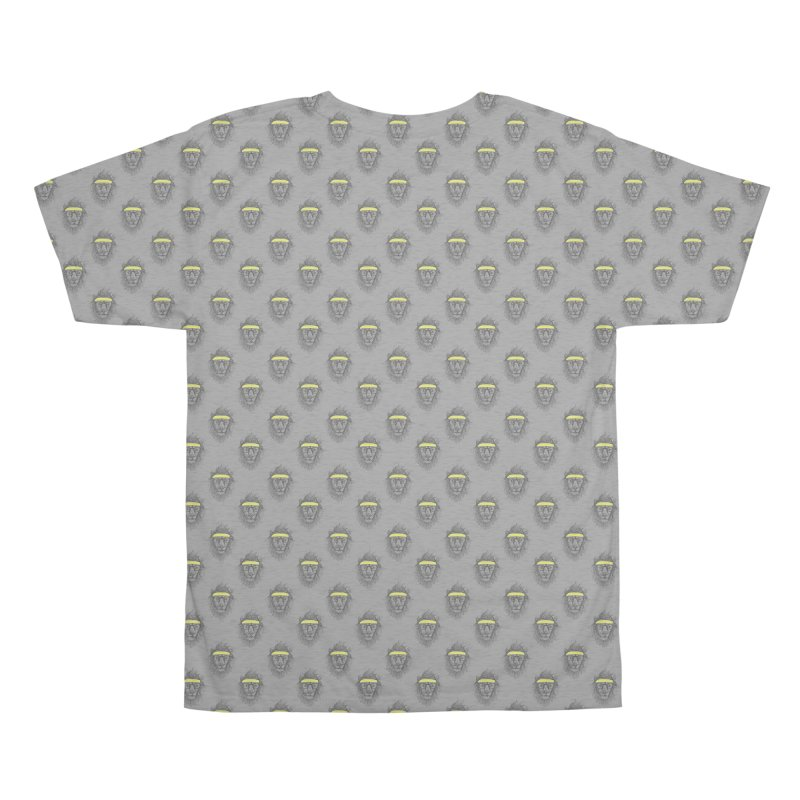 Hipster Lion Men's All Over Print by Balazs Solti