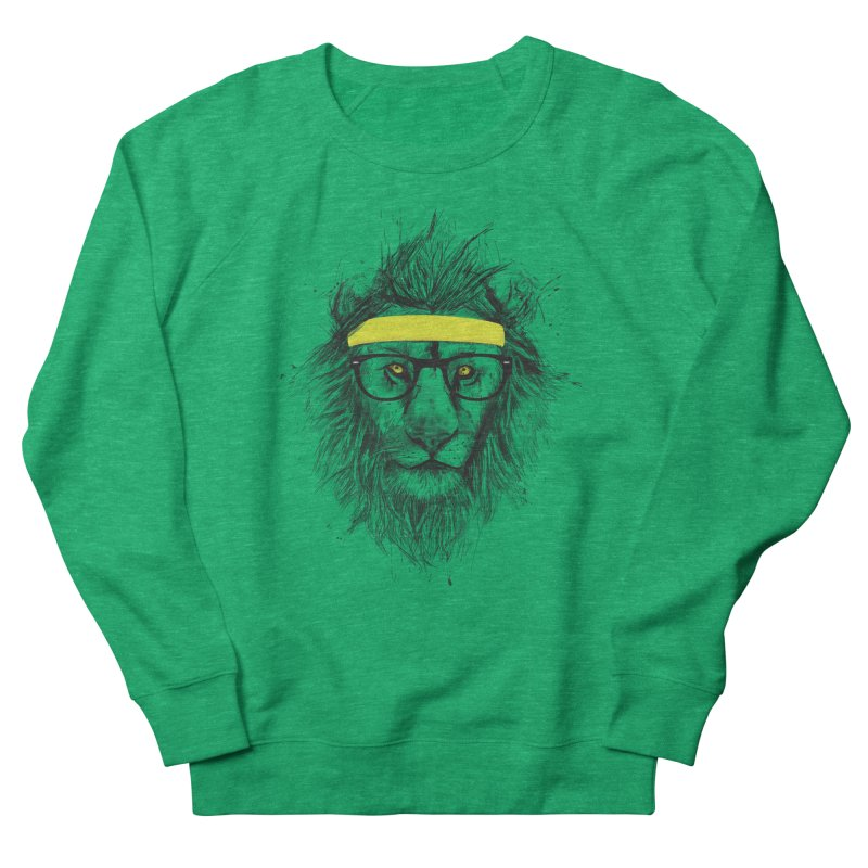 Hipster Lion Women's Sweatshirt by Balazs Solti