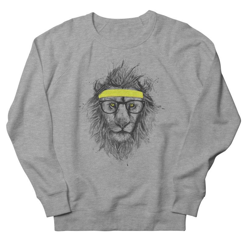 Hipster Lion Men's Sweatshirt by Balazs Solti