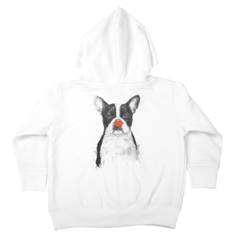 I'm Not Your Clown Kids Toddler Zip-Up Hoody by Balazs Solti