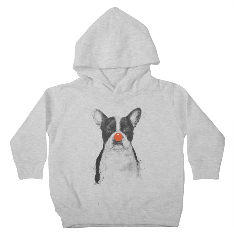 I'm Not Your Clown Kids Toddler Pullover Hoody by Balazs Solti
