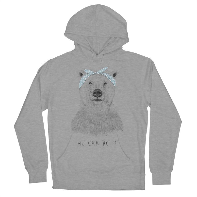 We Can Do It Women's Pullover Hoody by Balazs Solti