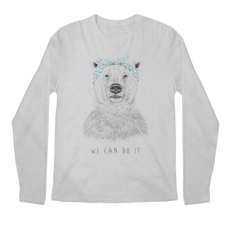 We Can Do It Men's Longsleeve T-Shirt by Balazs Solti