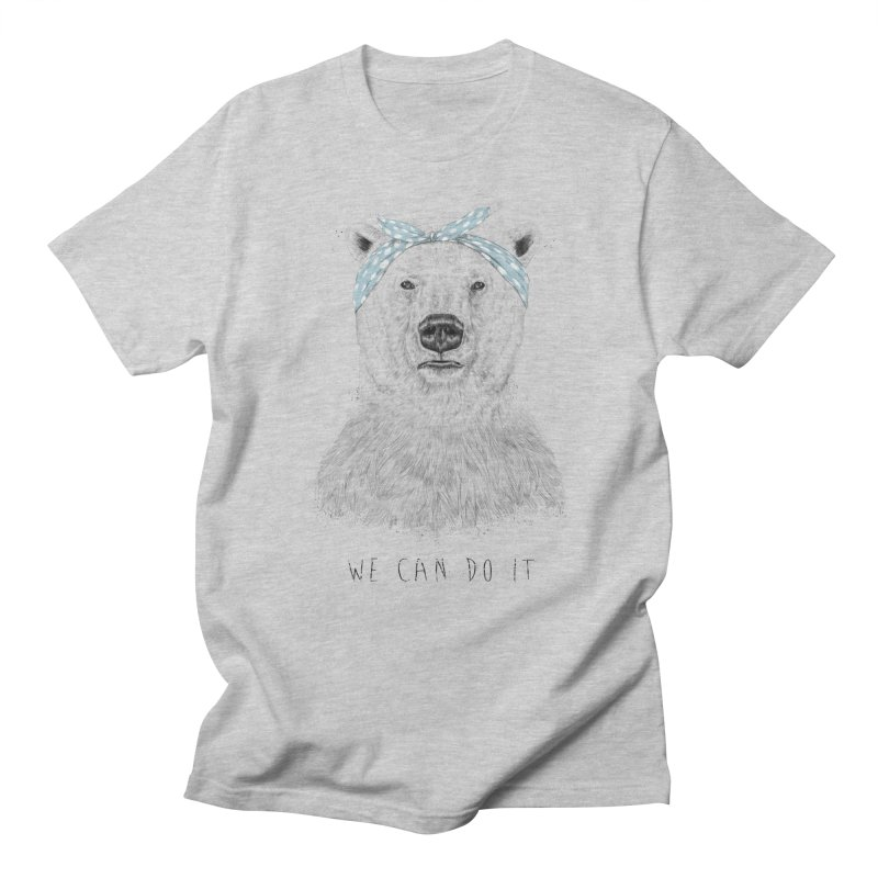 We Can Do It Men's T-shirt by Balazs Solti