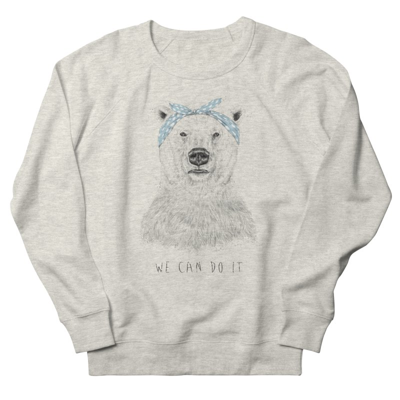 We Can Do It Women's Sweatshirt by Balazs Solti