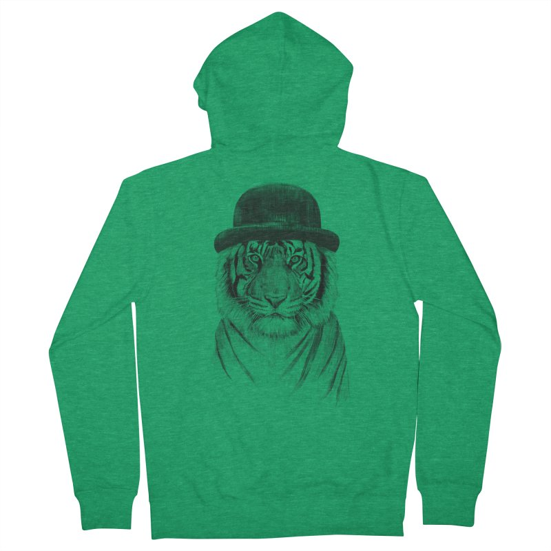 Welcome to the Jungle Women's Zip-Up Hoody by Balazs Solti