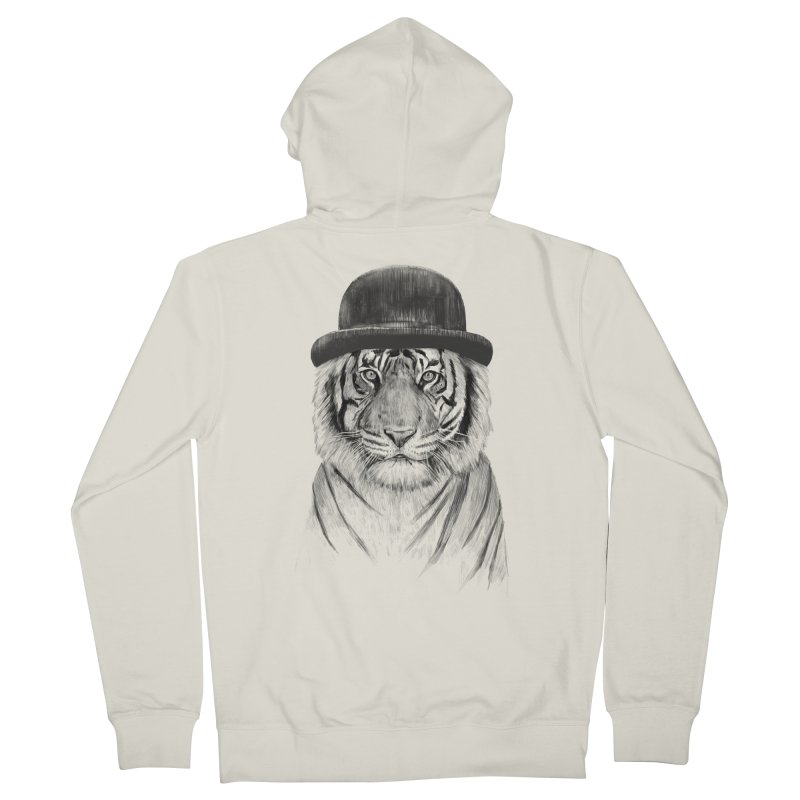 Welcome to the Jungle Men's Zip-Up Hoody by Balazs Solti
