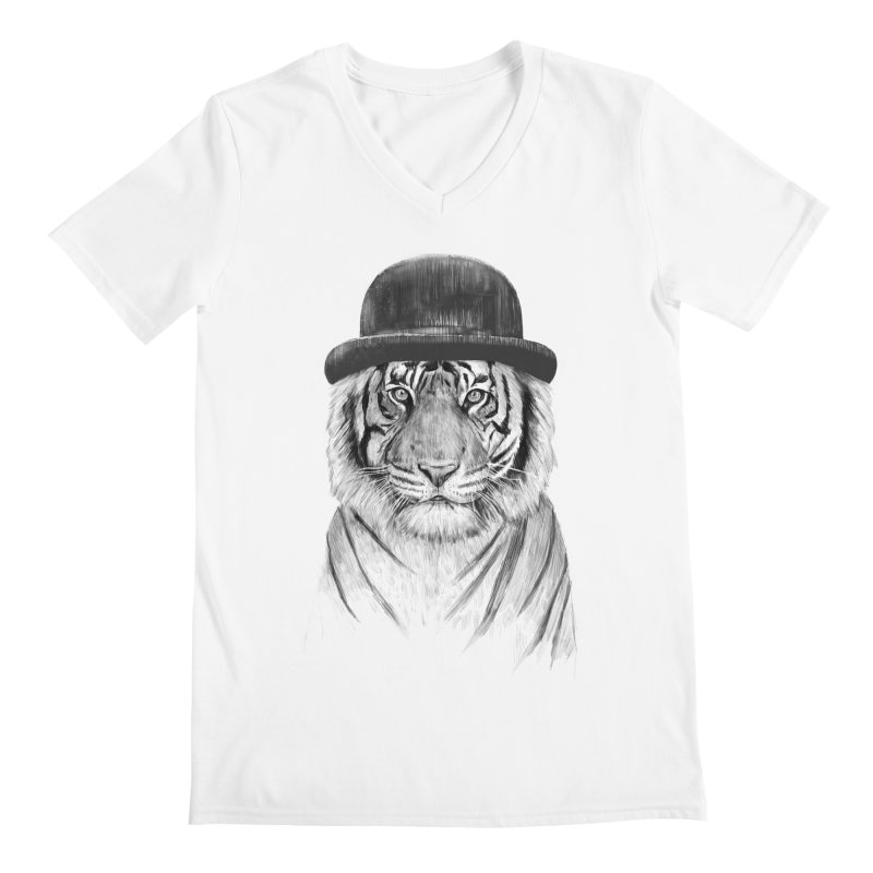 Welcome to the Jungle Men's V-Neck by Balazs Solti