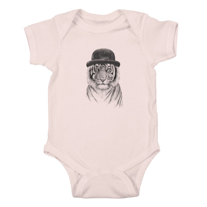 Welcome to the Jungle Kids Baby Bodysuit by Balazs Solti