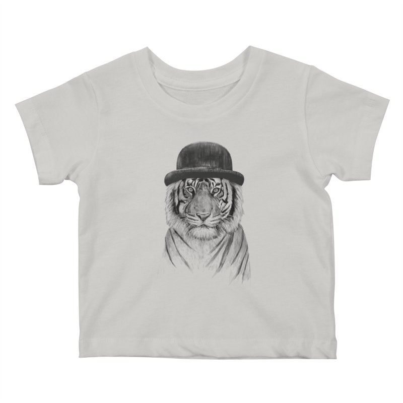 Welcome to the Jungle Kids Baby T-Shirt by Balazs Solti