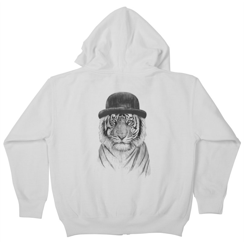 Welcome to the Jungle Kids Zip-Up Hoody by Balazs Solti