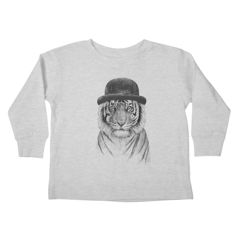 Welcome to the Jungle Kids Toddler Longsleeve T-Shirt by Balazs Solti
