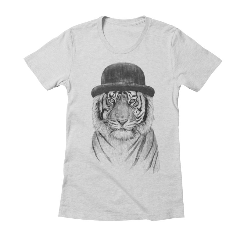Welcome to the Jungle Women's Fitted T-Shirt by Balazs Solti