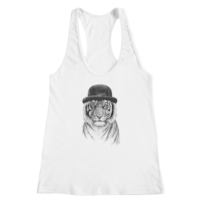 Welcome to the Jungle Women's Racerback Tank by Balazs Solti