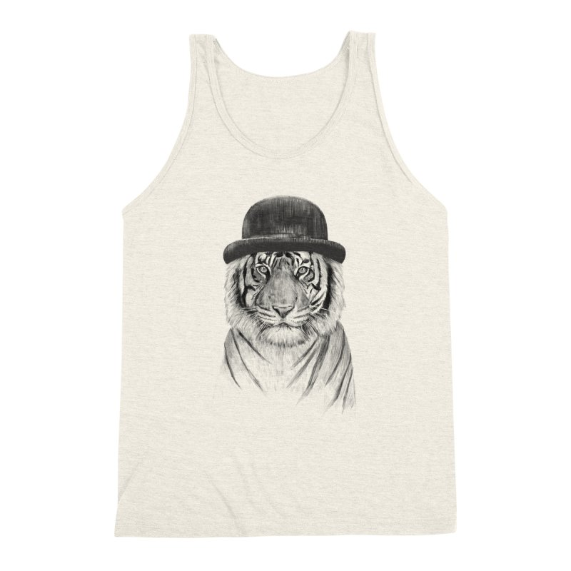 Welcome to the Jungle Men's Triblend Tank by Balazs Solti