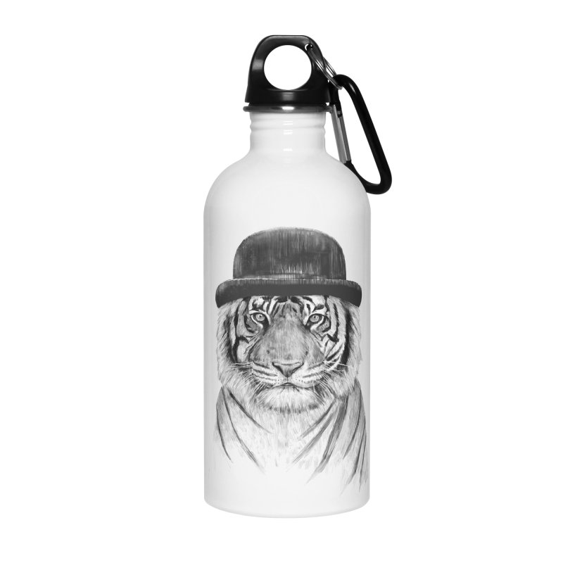 Welcome to the Jungle Accessories Water Bottle by Balazs Solti