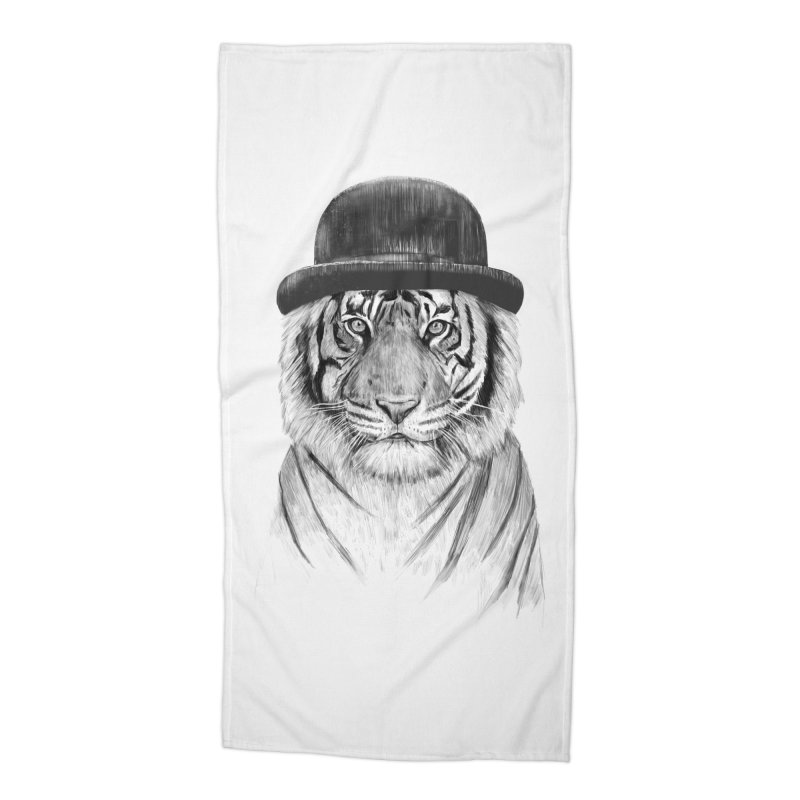 Welcome to the Jungle Accessories Beach Towel by Balazs Solti