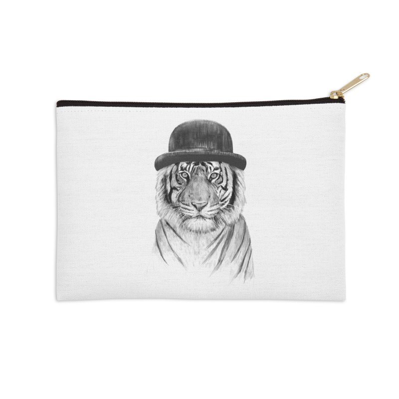 Welcome to the Jungle Accessories Zip Pouch by Balazs Solti