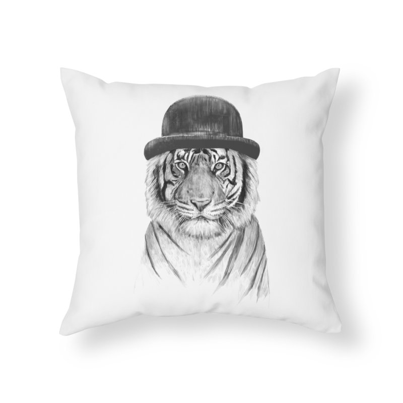 Welcome to the Jungle Home Throw Pillow by Balazs Solti