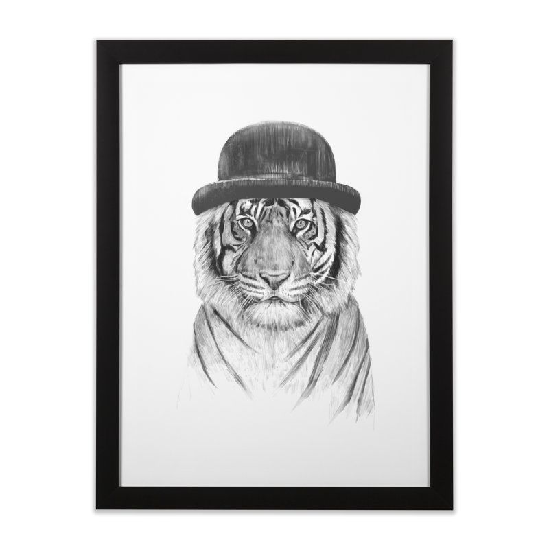Welcome to the Jungle Home Framed Fine Art Print by Balazs Solti