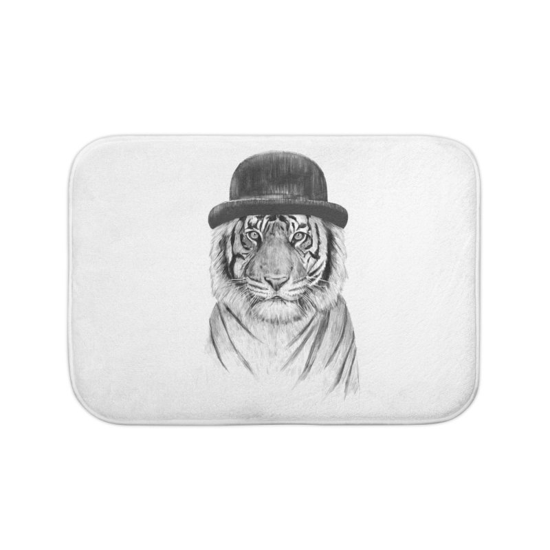 Welcome to the Jungle Home Bath Mat by Balazs Solti