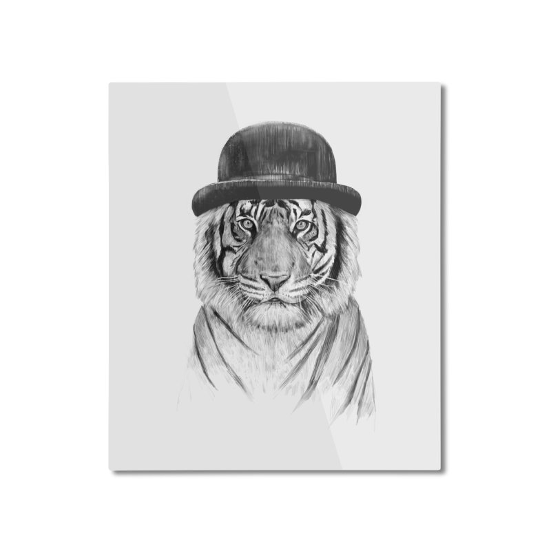 Welcome to the Jungle Home Mounted Aluminum Print by Balazs Solti