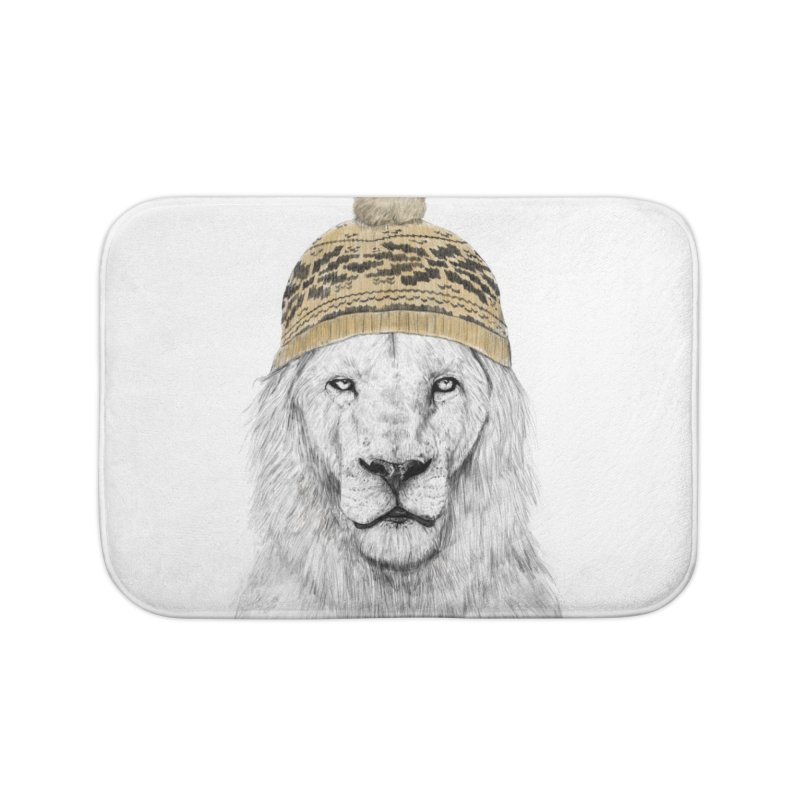Winter is Coming Home Bath Mat by Balazs Solti