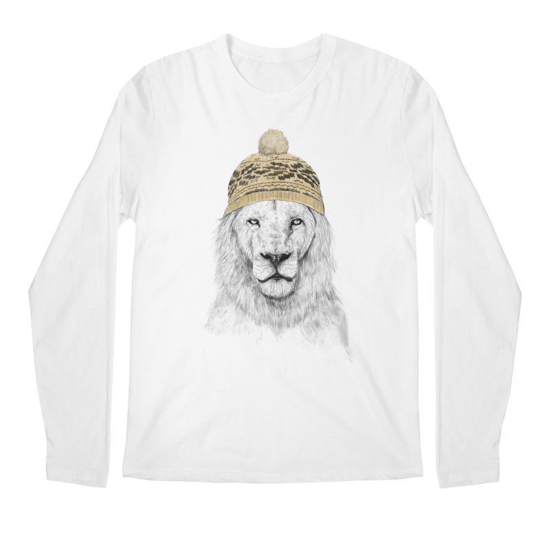 Winter is Coming Men's Longsleeve T-Shirt by Balazs Solti