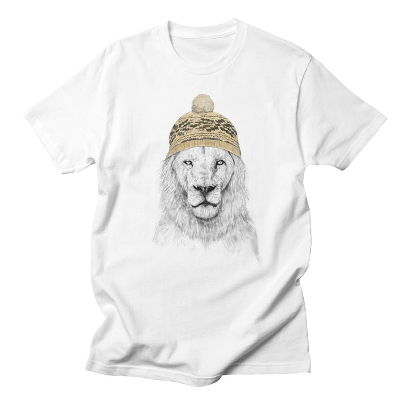 Winter is Coming Men's T-shirt by Balazs Solti