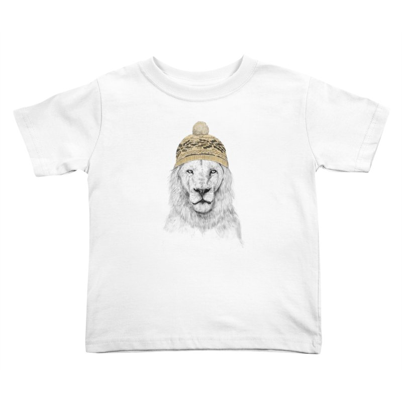 Winter is Coming Kids Toddler T-Shirt by Balazs Solti