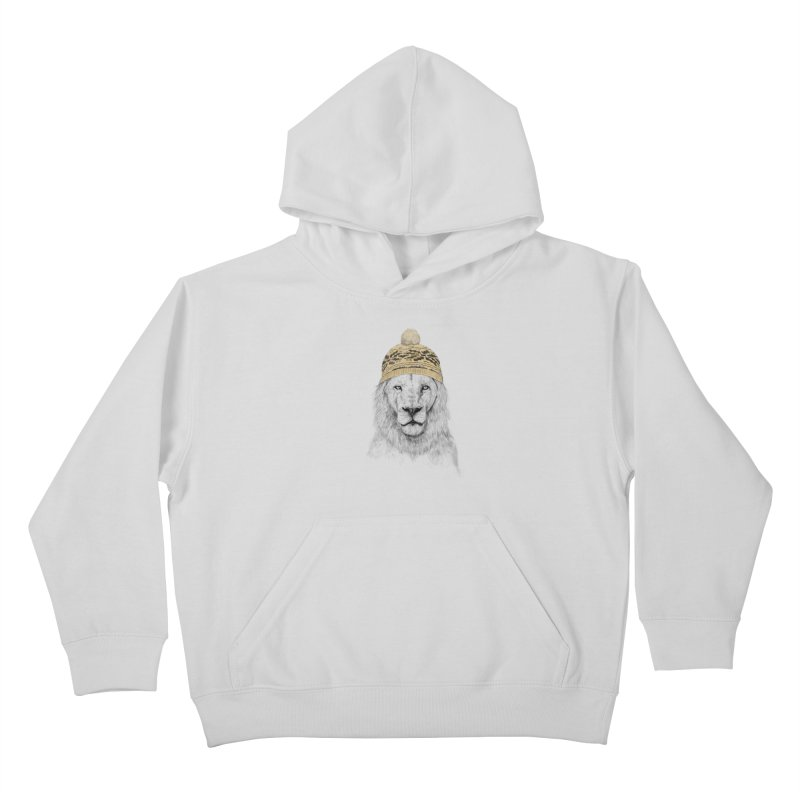 Winter is Coming Kids Pullover Hoody by Balazs Solti