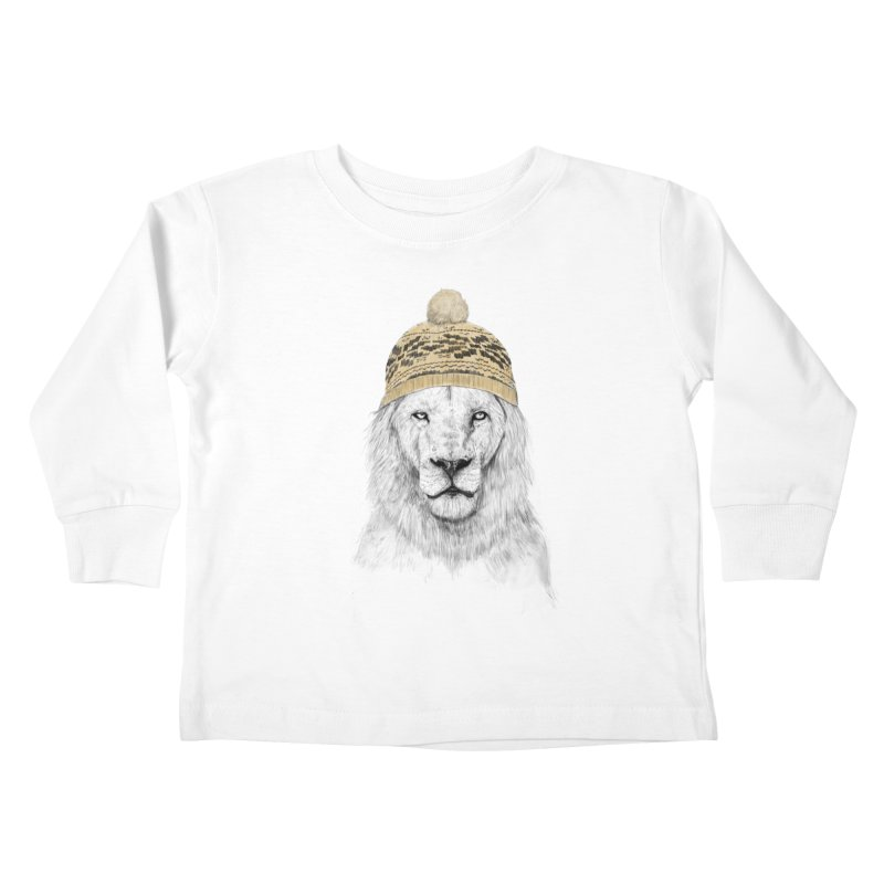Winter is Coming Kids Toddler Longsleeve T-Shirt by Balazs Solti