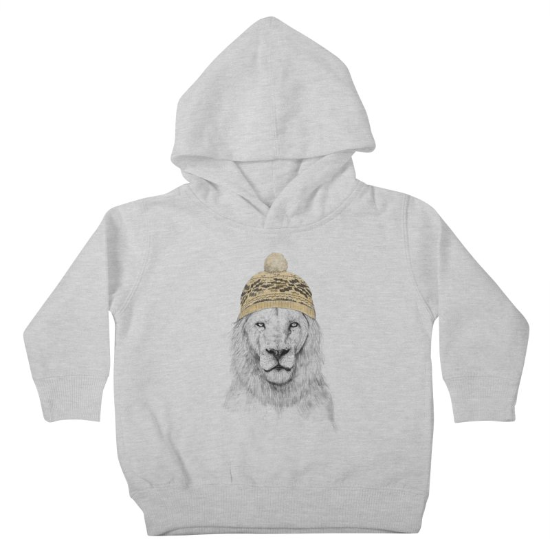 Winter is Coming Kids Toddler Pullover Hoody by Balazs Solti