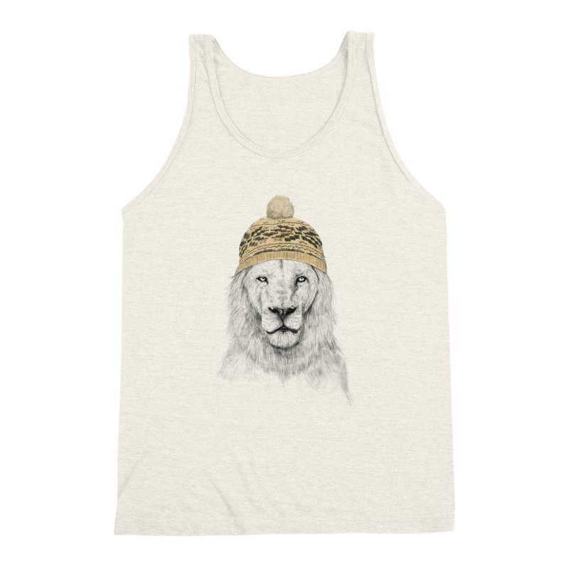 Winter is Coming Men's Triblend Tank by Balazs Solti
