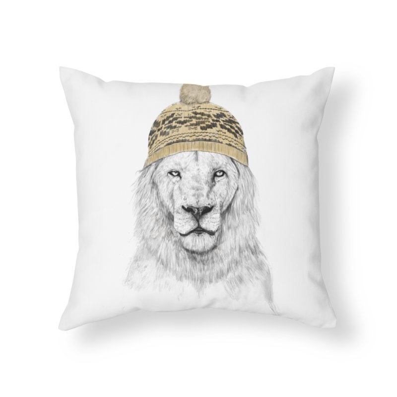 Winter is Coming Home Throw Pillow by Balazs Solti