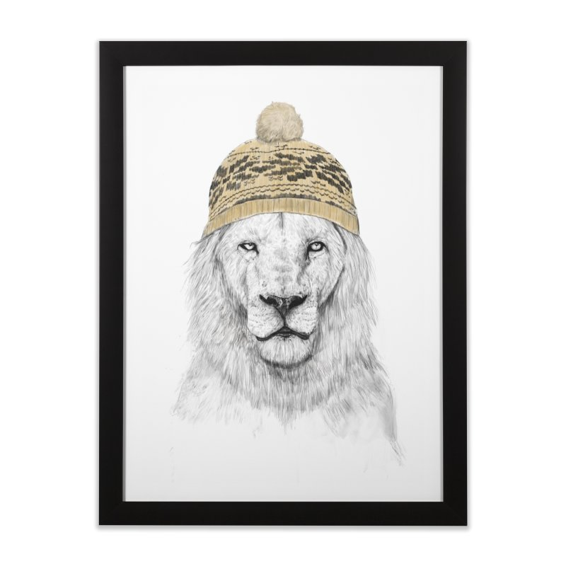 Winter is Coming Home Framed Fine Art Print by Balazs Solti