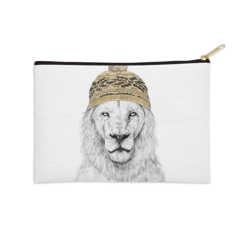 Winter is Coming Accessories Zip Pouch by Balazs Solti