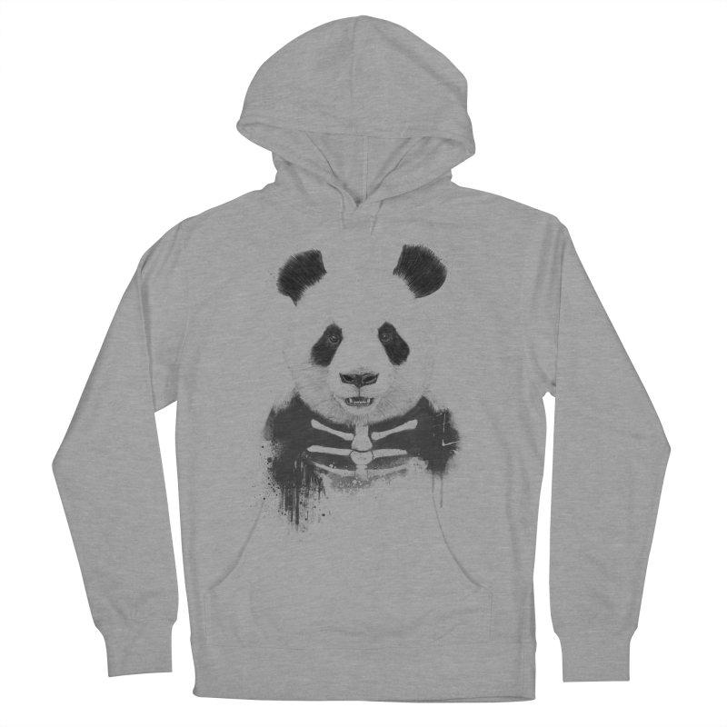 Zombie Panda Women's Pullover Hoody by Balazs Solti