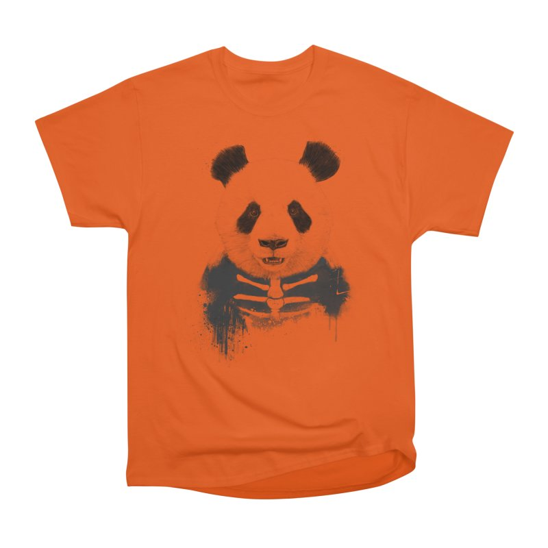 Zombie Panda Men's Classic T-Shirt by Balazs Solti