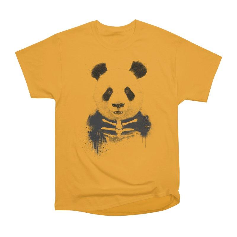 Zombie Panda Women's Classic Unisex T-Shirt by Balazs Solti