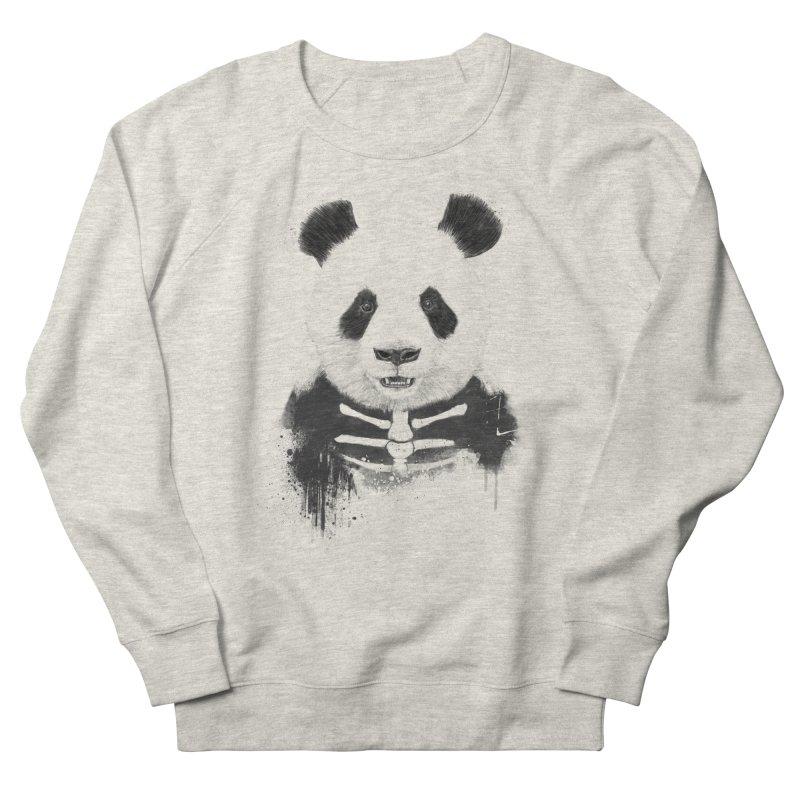 Zombie Panda Women's Sweatshirt by Balazs Solti