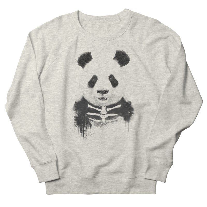 Zombie Panda Men's Sweatshirt by Balazs Solti
