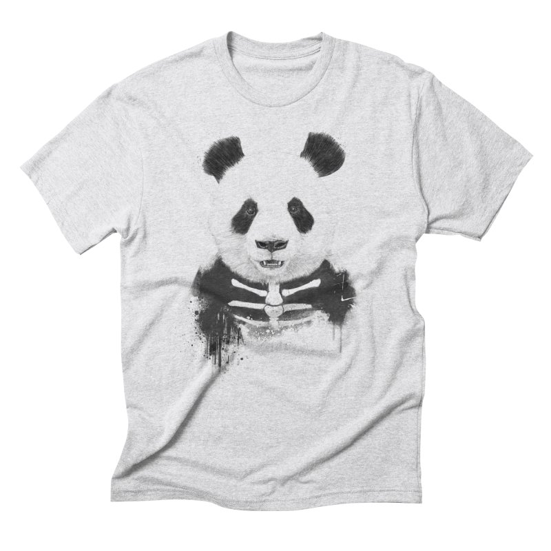 Zombie Panda Men's Triblend T-Shirt by Balazs Solti