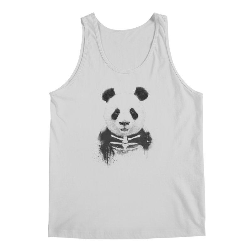 Zombie Panda Men's Regular Tank by Balazs Solti