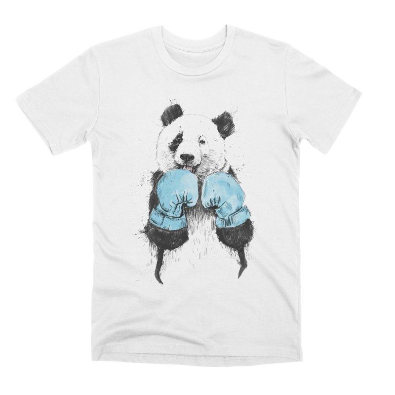 The winner Men's Premium T-Shirt by Balazs Solti