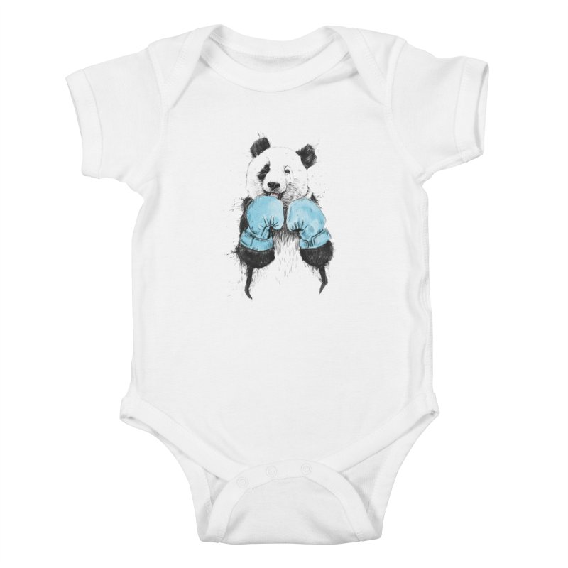 The winner Kids Baby Bodysuit by Balazs Solti