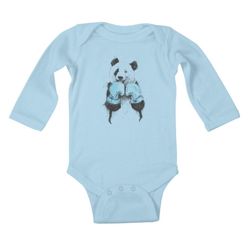 The winner Kids Baby Longsleeve Bodysuit by Balazs Solti
