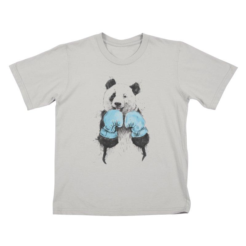 The winner Kids T-shirt by Balazs Solti