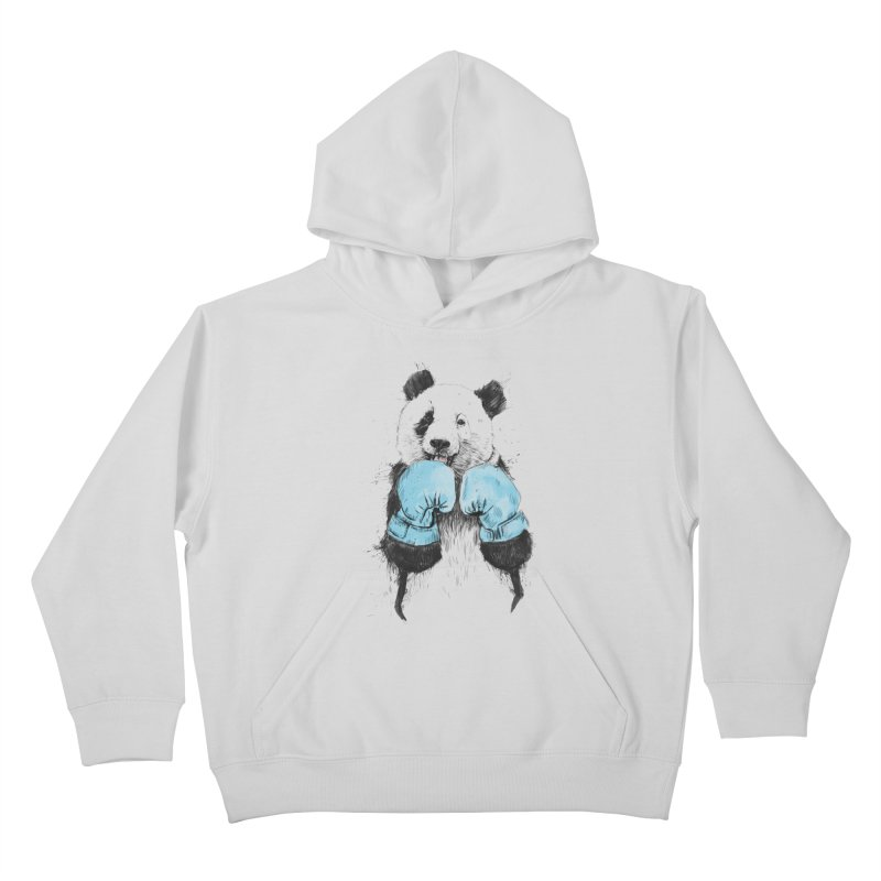 The winner Kids Pullover Hoody by Balazs Solti