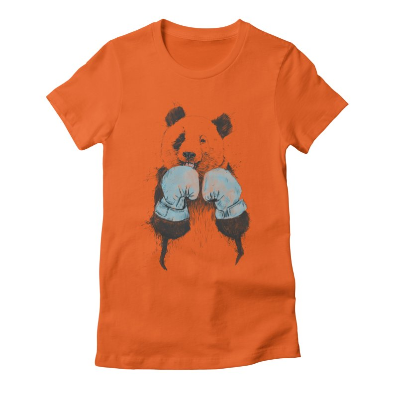 The winner Women's Fitted T-Shirt by Balazs Solti